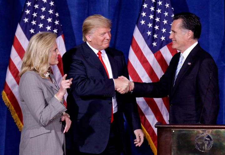 Romney was happy to accept Trump's endorsements during his presidential run in 2012 and in his race for the Senate last