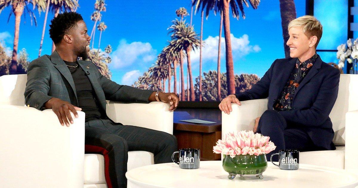 Ellen DeGeneres' Kevin Hart 'Interview' Is Talk-Show Culture At Its