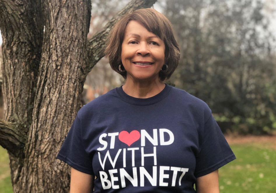 Phyllis Worthy Dawkins, president of Bennett College, is trying save her school for losing its accreditation.