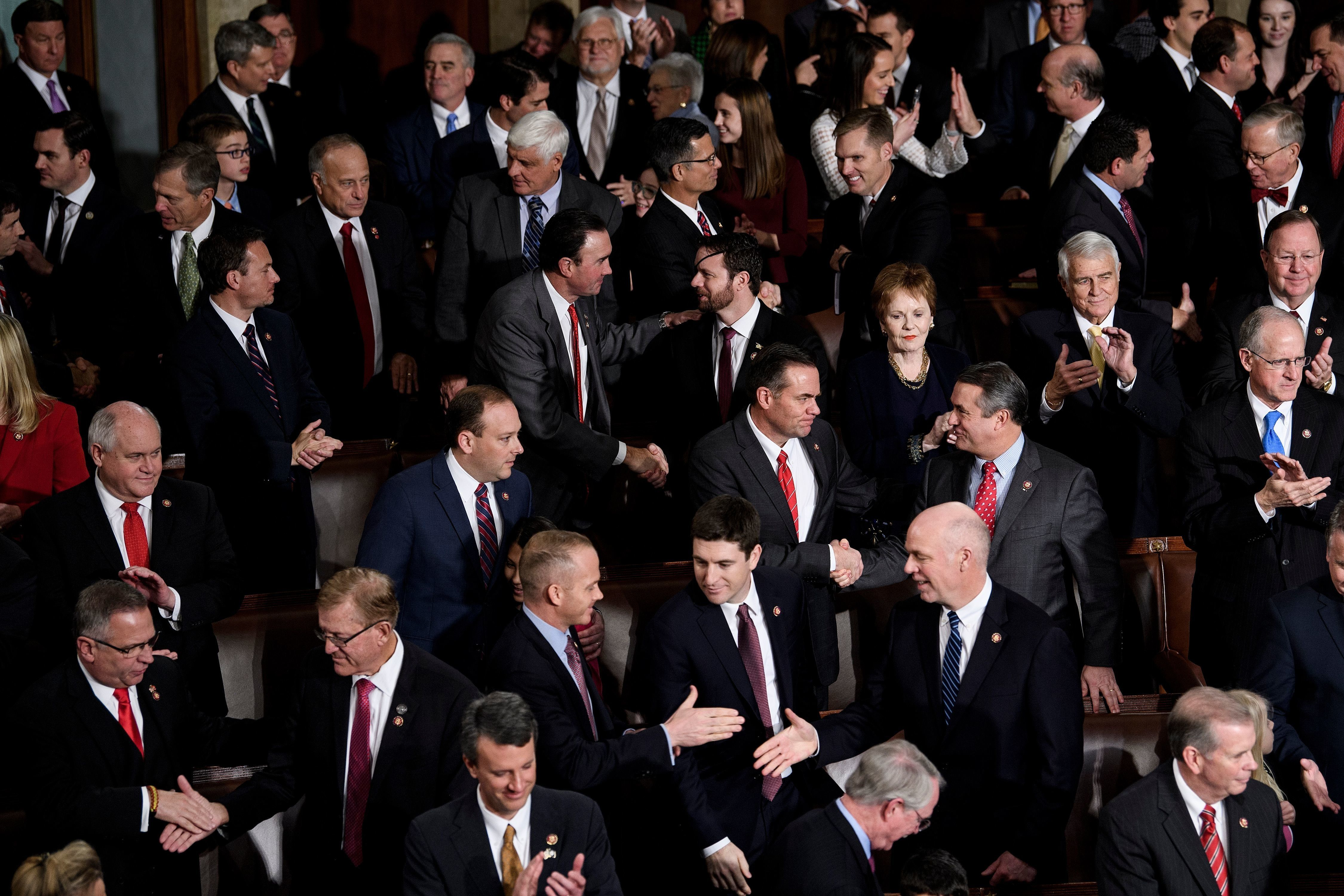 GOP men in the House.