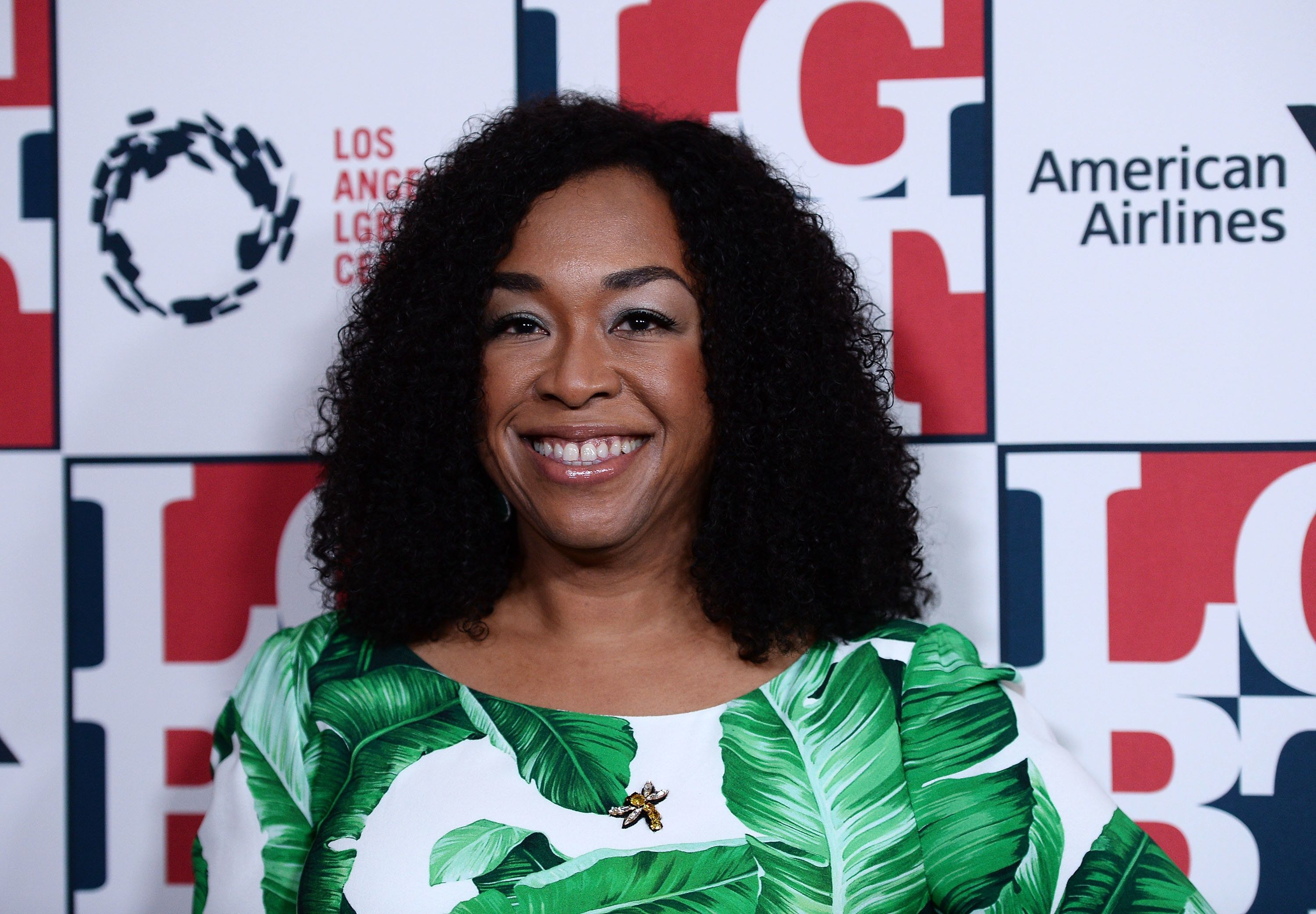 BEVERLY HILLS, CA - SEPTEMBER 23:  Producer Shonda Rhimes arrives at the Los Angeles LGBT Center's 48th Anniversary Gala Vanguard Awards at The Beverly Hilton Hotel on September 23, 2017 in Beverly Hills, California.  (Photo by Amanda Edwards/WireImage)