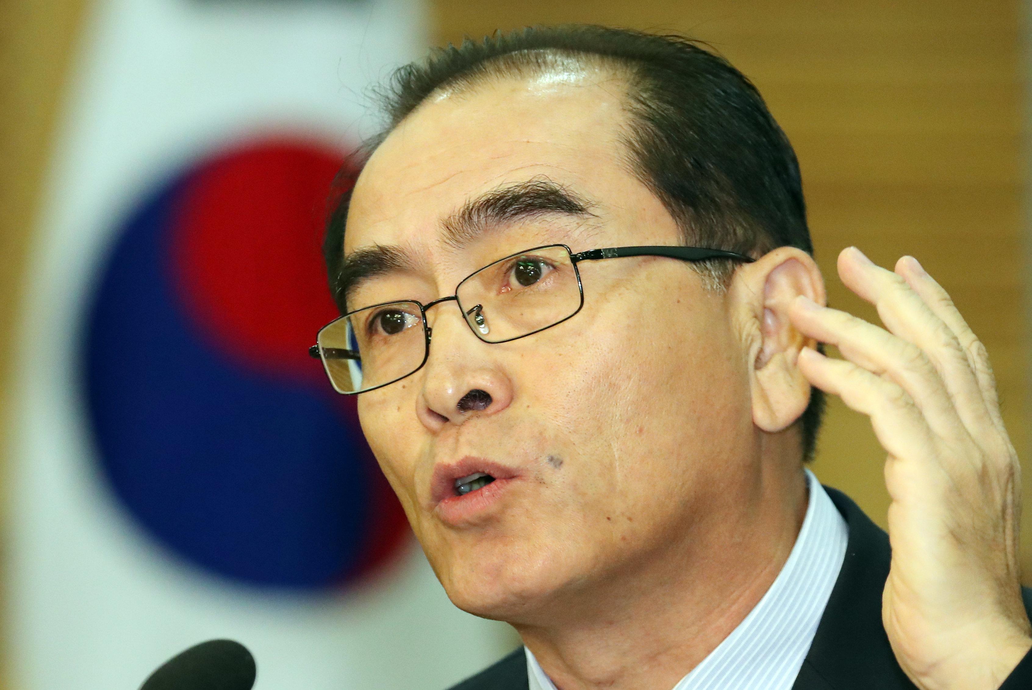 태영호가 조성길 북한 대사대리에게 '한국행'을 공개