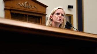 Homeland Security Secretary Kirstjen Nielsen testifies before the House Judiciary Committee on Capitol Hill in Washington, Thursday, Dec. 20, 2018. (AP Photo/Susan Walsh)