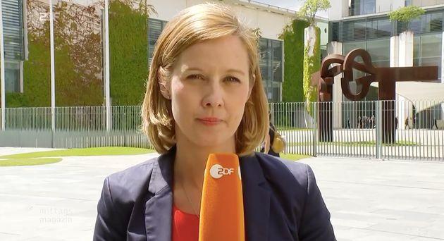 Nicht alle Nutzer verstanden den Humor von ZDF-Korrespondentin Nicole Diekmann.