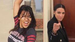 Η Αλεξάντρια Οκάσιο Κορτές απαντά στους επικριτές του χορευτικού της βίντεο με περισσότερο