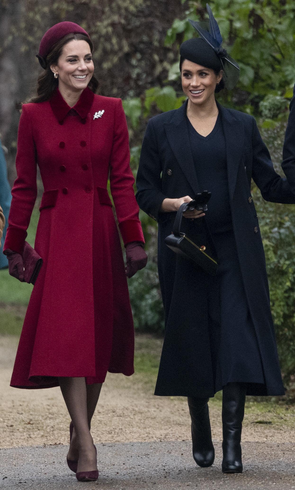 Royals: So stellt Meghan sicher, dass sie sich niemals wie Schwägerin Kate