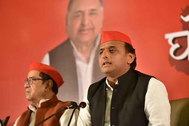 SP chief Akhilesh Yadav in a file