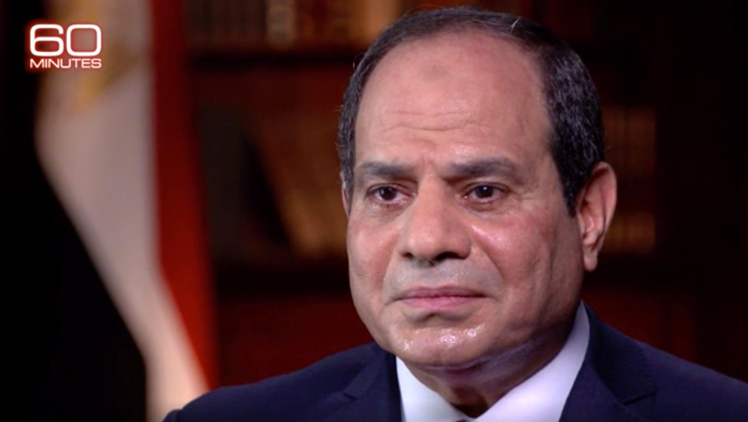 CBS revealed that after the interview was filmed, an Egyptian ambassador contacted its 60 Minutes team and warned that it could not be aired.