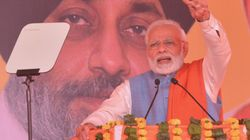 Modi Hits Out At Cong, Accuses It Of Working At The Behest Of