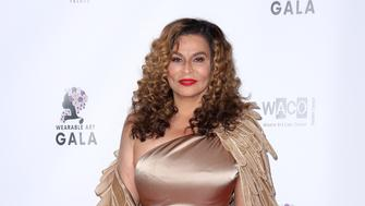 Tina Knowles Lawson arrives at the 2nd Annual Wearable Art Gala at The Alexandria Ballrooms on Saturday, March 17, 2018, in Los Angeles. (Photo by Willy Sanjuan/Invision/AP)