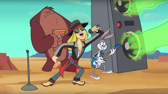 Axl Rose releases first music in 10 years in Looney Tunes rock video.