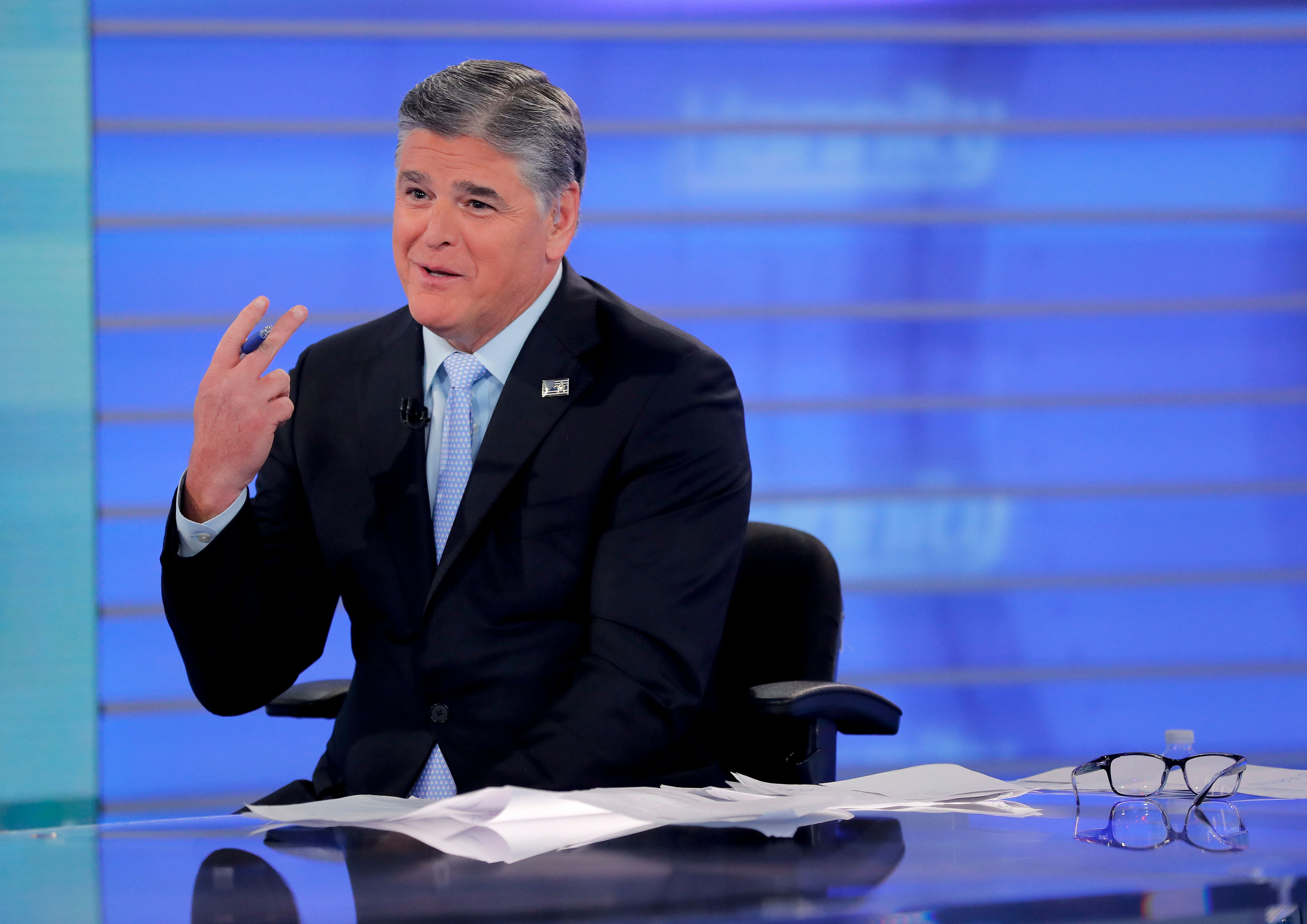 El anfitrión de Fox News, Sean Hannity, en una imagen del 26 de julio de 2018. (AP Foto/Julie Jacobson, File)