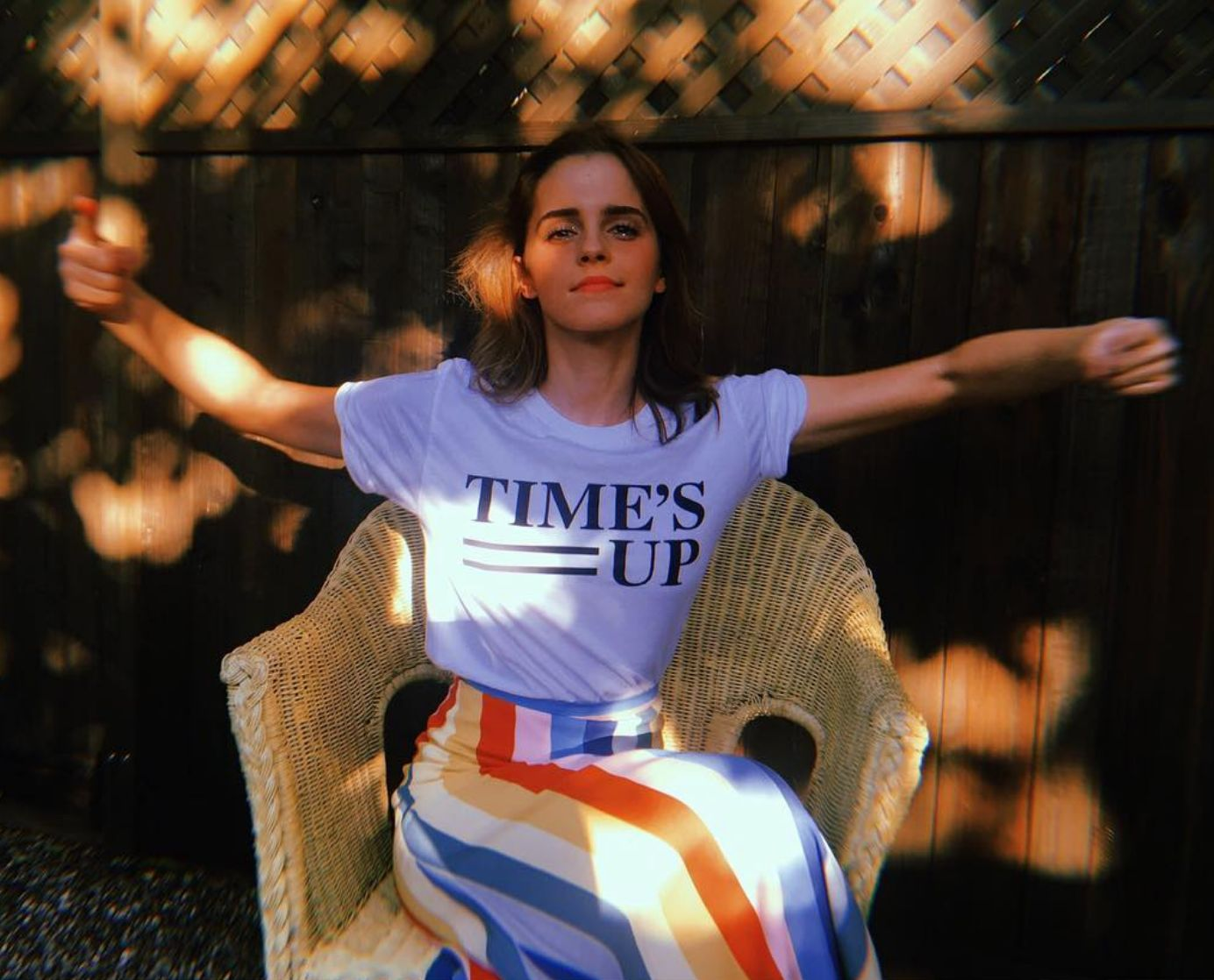 Emma Watson Reflects On Time's Up Movement's Impact A Year On From Its