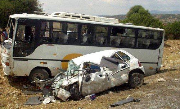 Accidents de la route en 2018 : baisse de 8,33% par rapport à l'année