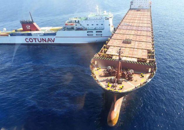 L'origine de la collision entre le navire Ulysse et CLS Virginia,