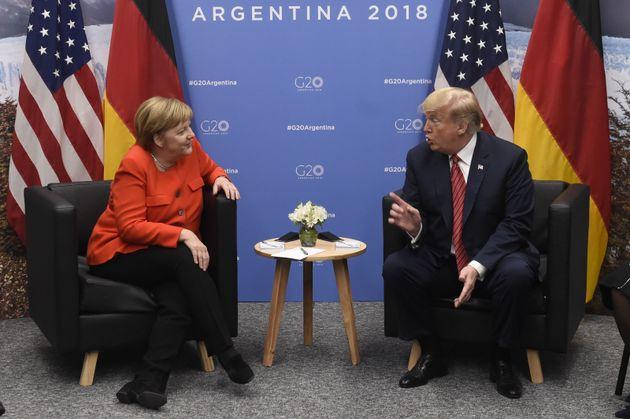 Bundeskanzlerin Angela Merkel und US-Präsident Donald Trump beim vergangenen G20-Gipfel in Argentinien.