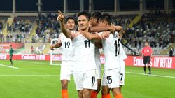 India celebrates win over Thailand at AFC Asian