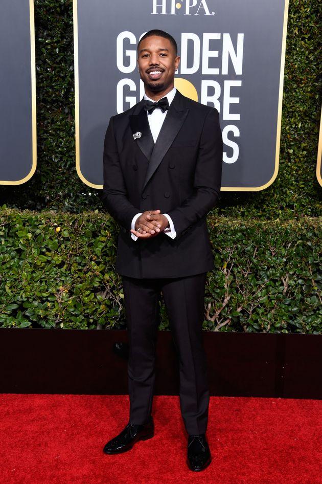 'Black Panther' Cast Slays Red Carpet At Golden