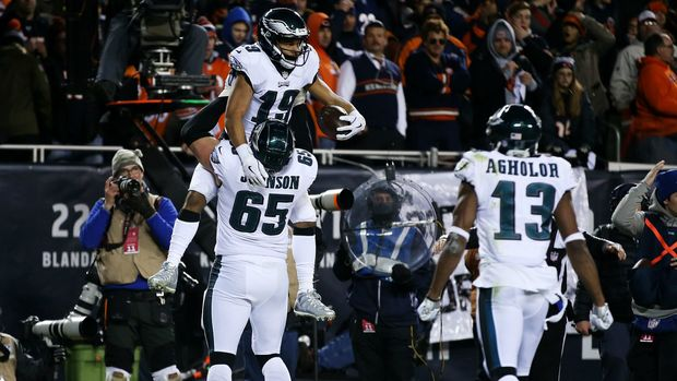 Philadelphia handed Chicago a loss behind the arm of Nick Foles and the dismay of Bears kicker Cody Parkey on Sunday.