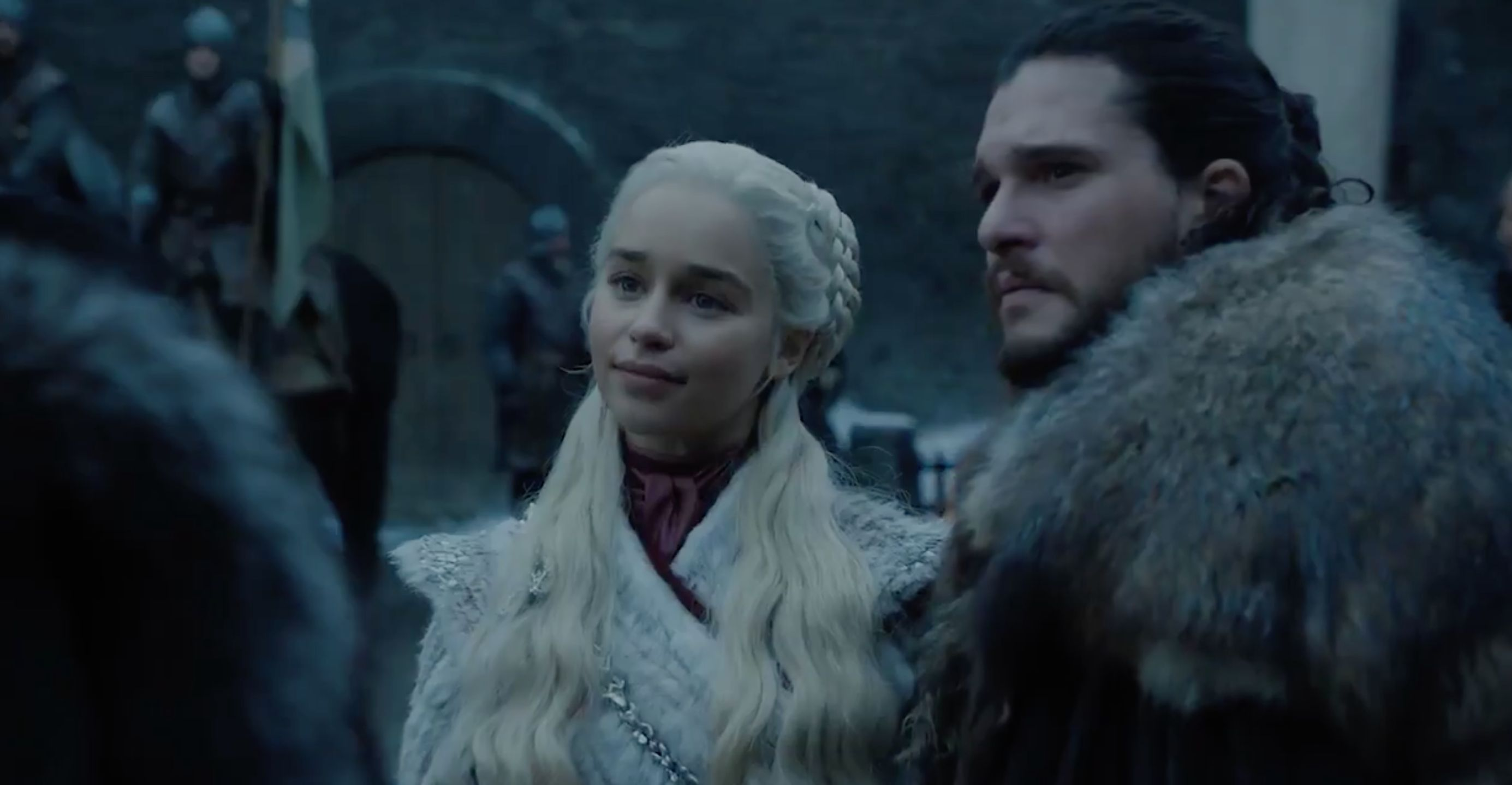 New 'Game Of Thrones' Season 8 Clip Is One Big Sigh Of