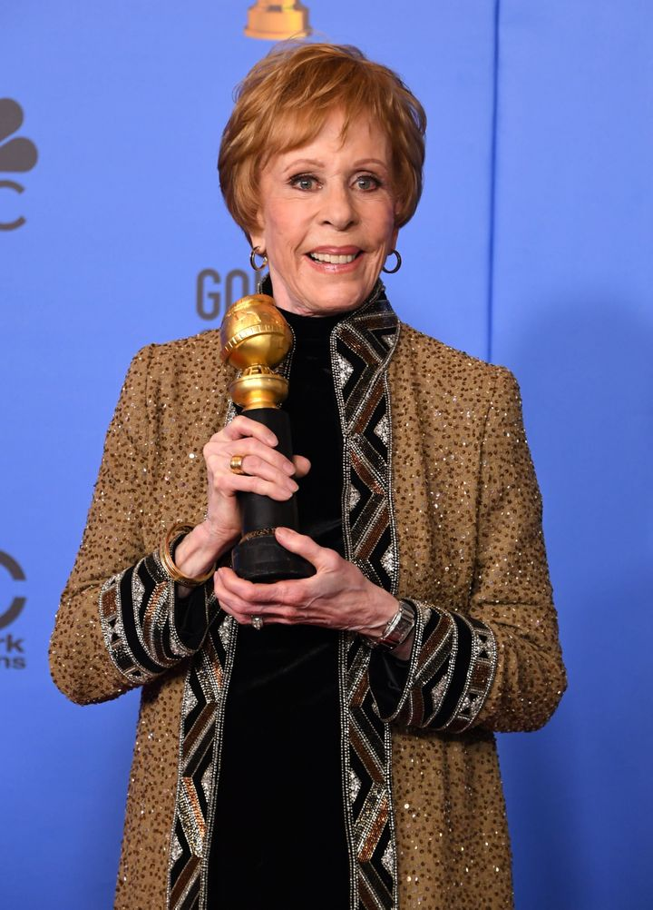 Carol Burnett holds the award named in her honor.