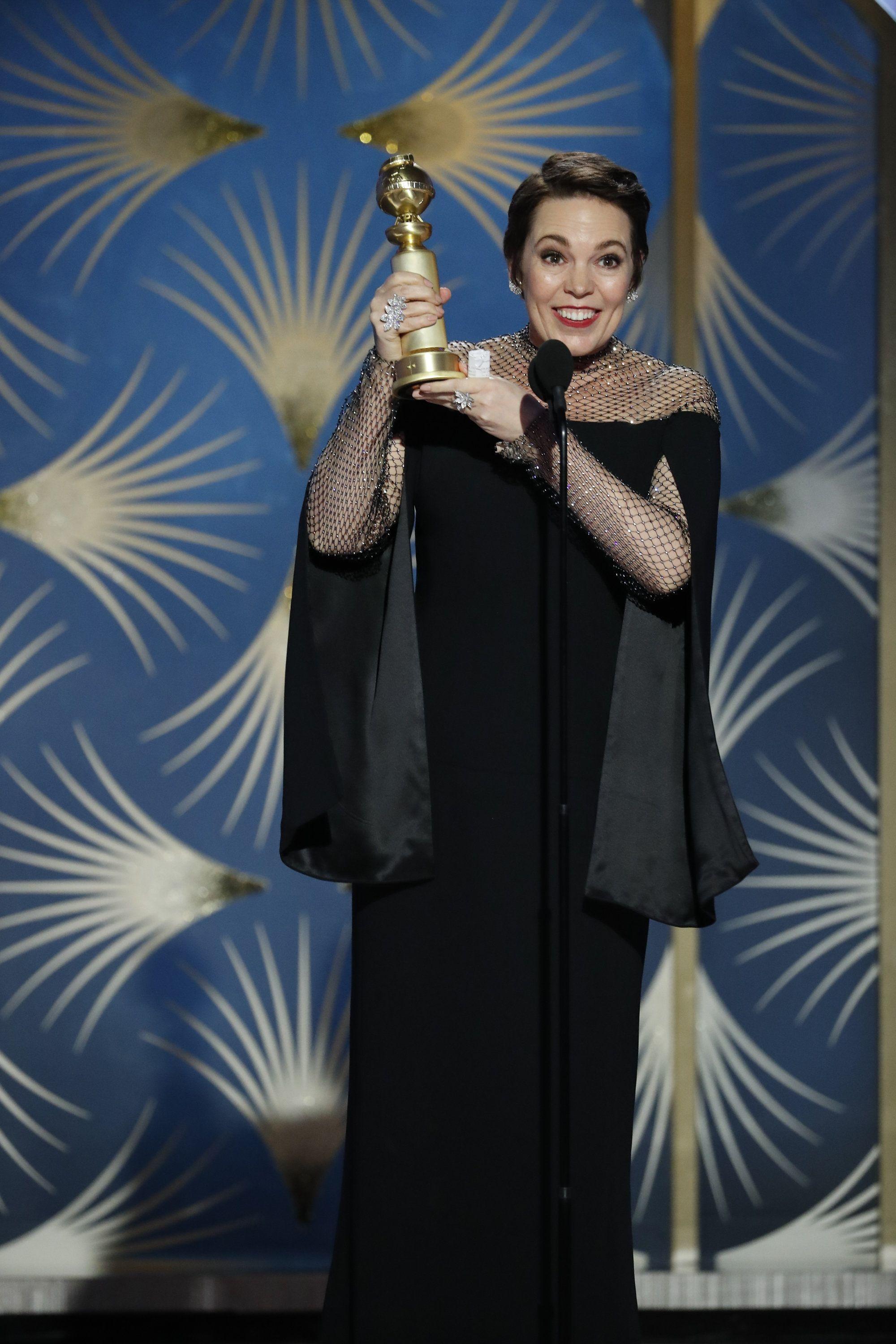 Olivia Colman's Golden Globes Speech Was A Shining Example Of Why She's Our