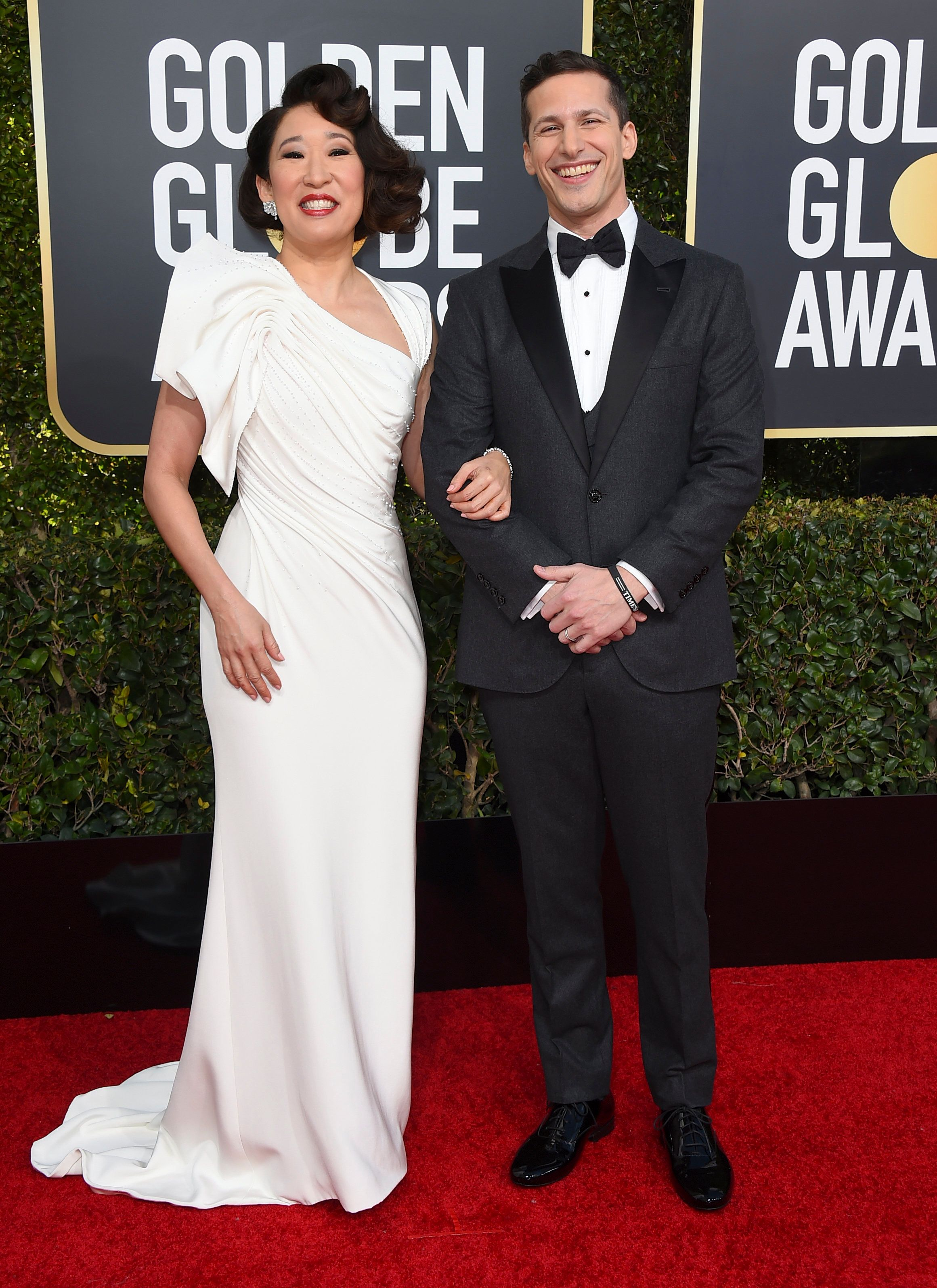 "Sandra Oh On Representation At The Golden Globes: ""This Moment Is"