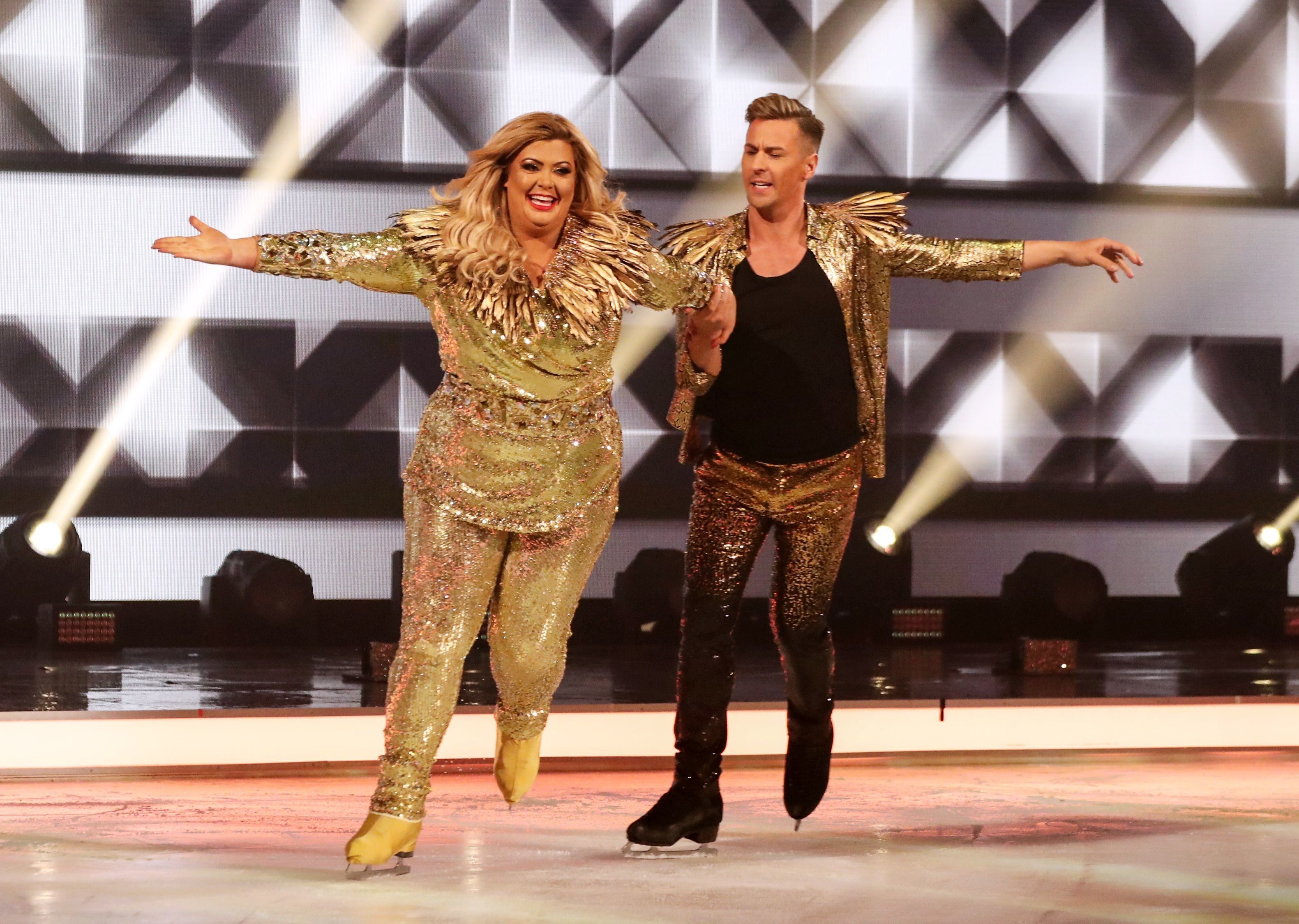 Every Part Of Gemma Collins' 'Dancing On Ice' Debut Was Suitably