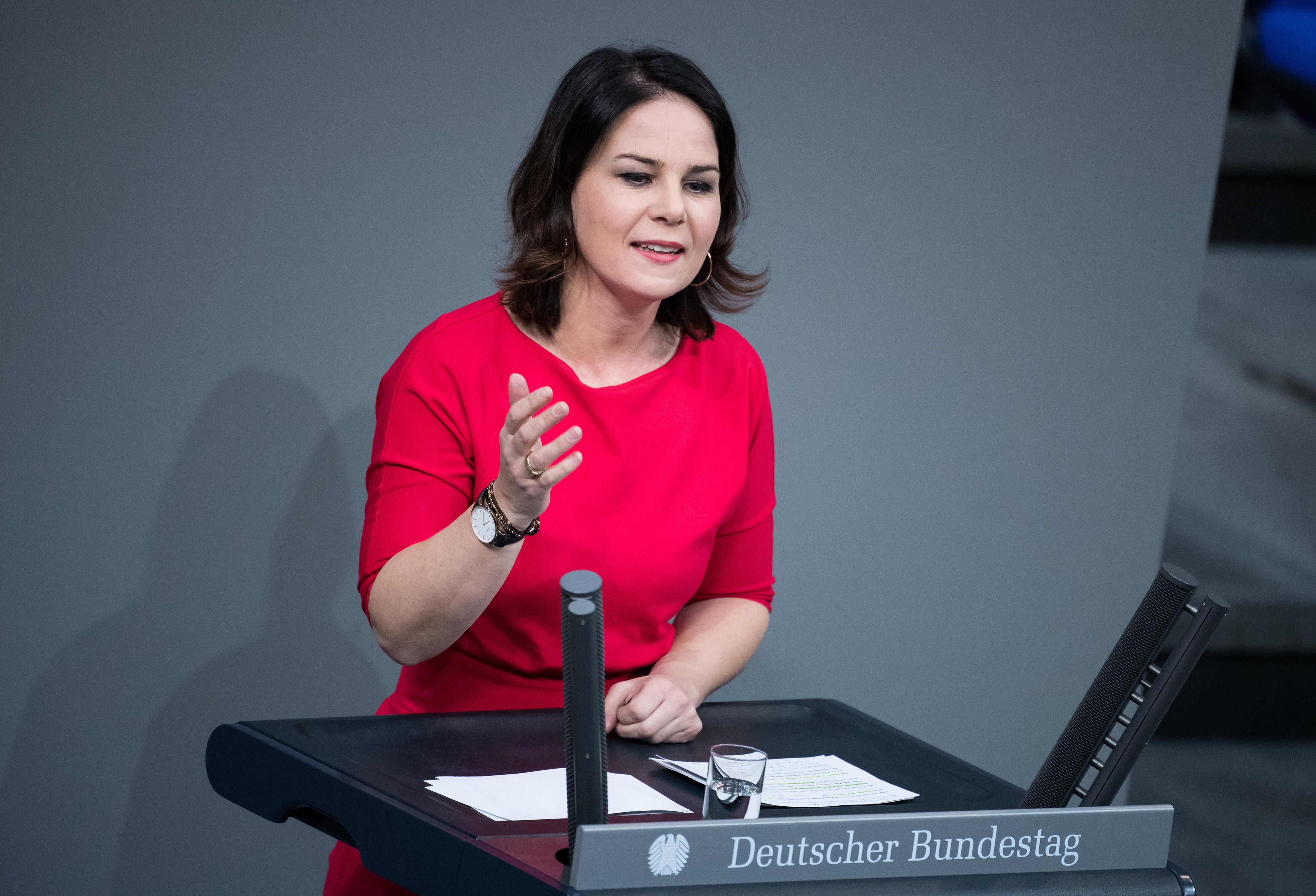 Grünen-Chefin Baerbock gibt Konservativen eine Mitschuld am Aufstieg der Rechten in