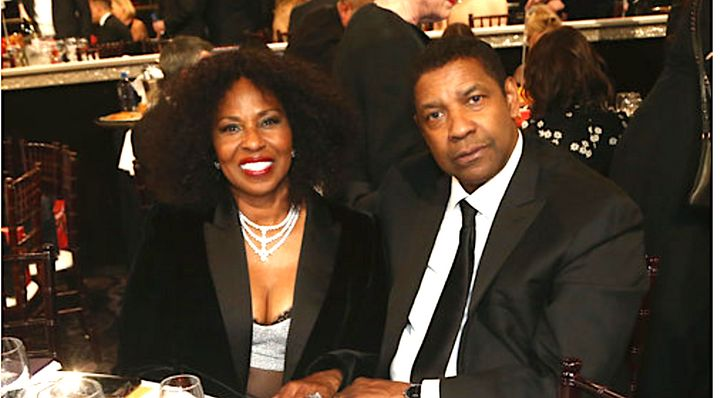 Denzel Washington, with his wife Pauletta at the Golden Globes, is used to being photographed by fans, but one earned a schoo