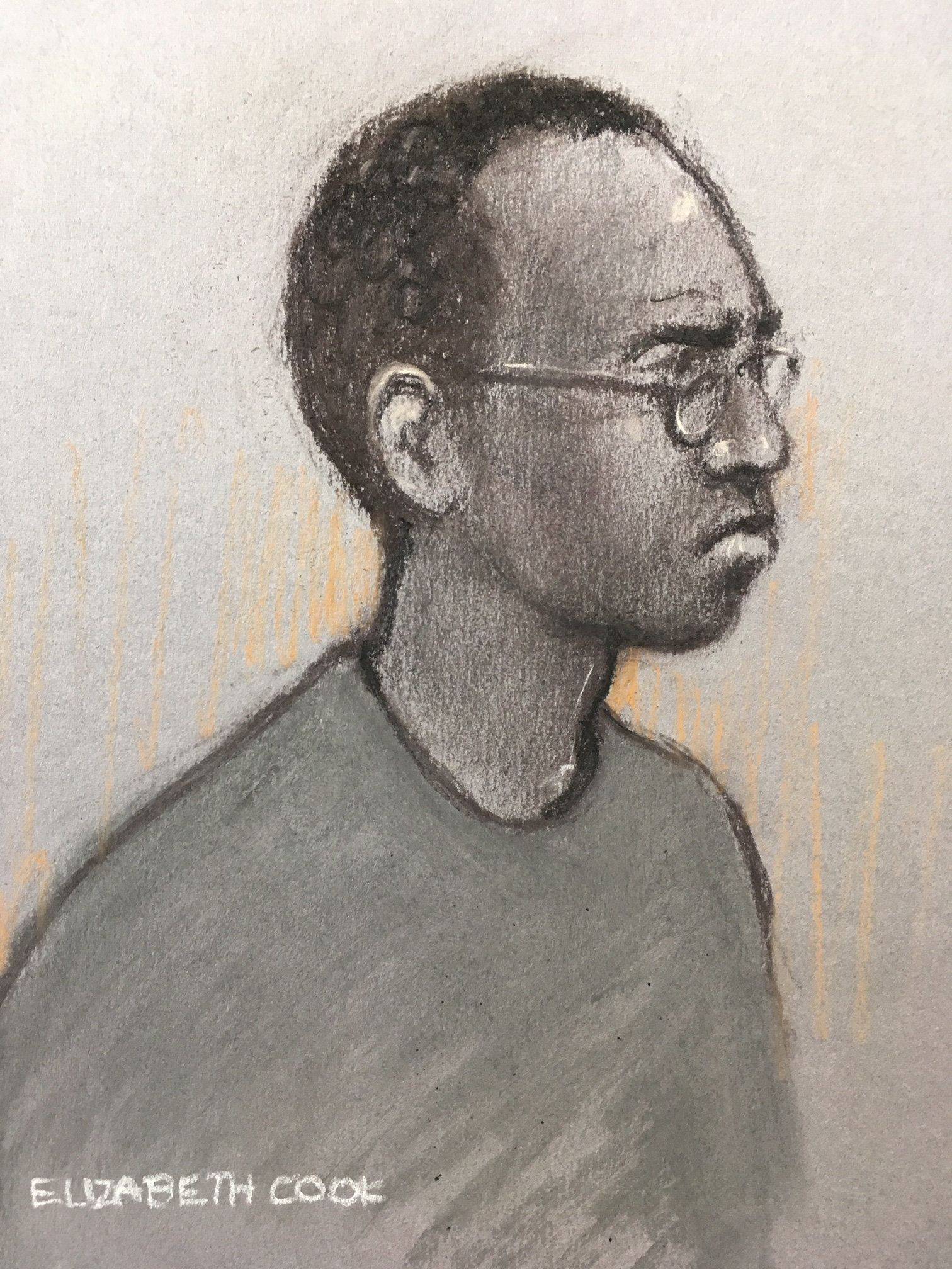 Man Accused Of Murdering A Father In Front Of His Son Says He Is 'Hearing