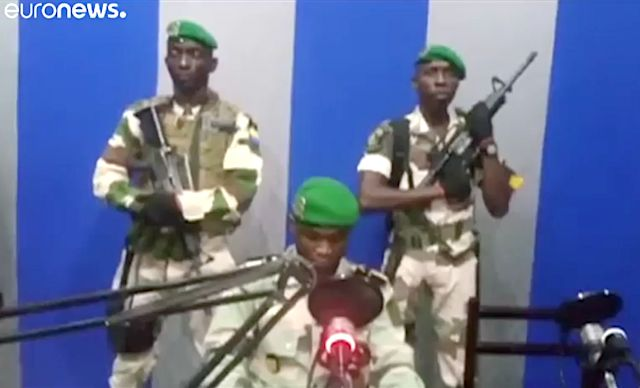 Gabon foiled an attempted military coup on Monday, arresting several plotters just hours after they took over state radio in a bid to end 50 years of rule by President Ali Bongo's family.