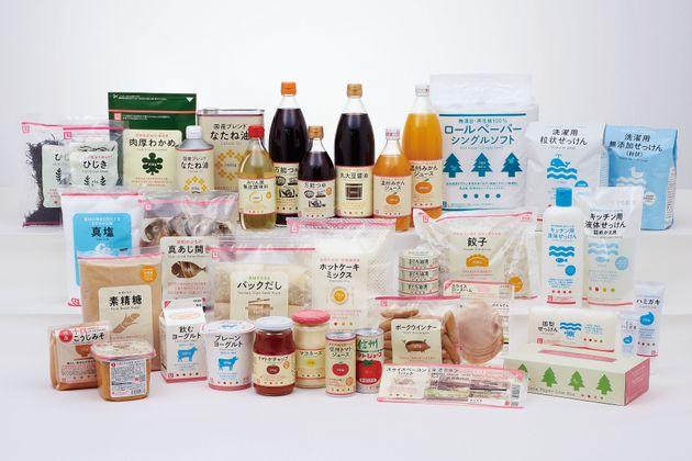 Some of the Seikatsu Club cooperative product