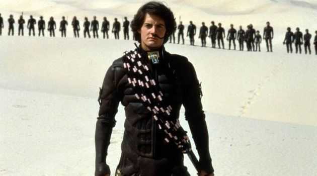 Kyle MacLachlan as Paul Atreides in the film adaptation