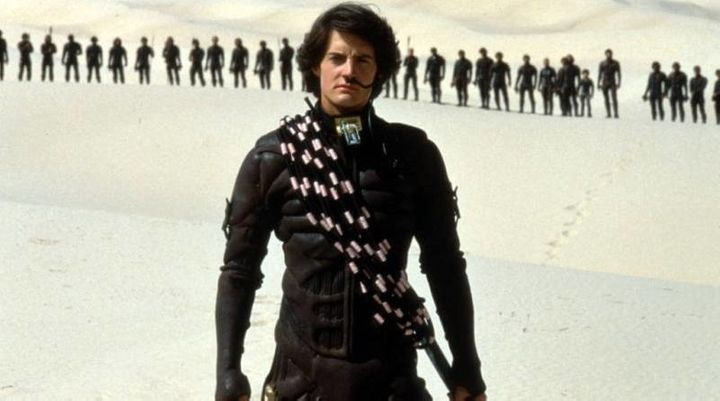 Kyle MacLachlan&nbsp;as Paul Atreides in the film adaptation of&nbsp;<i>Dune</i>.