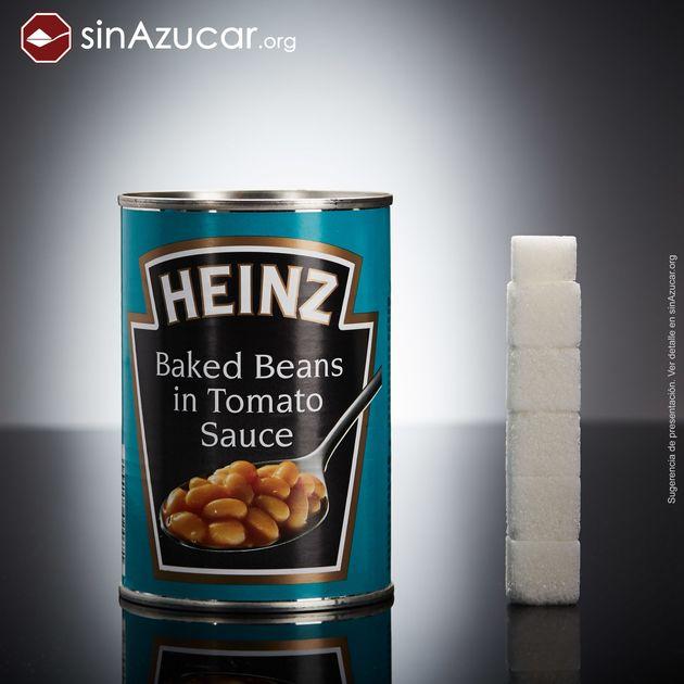 Projeto mostra quantidade de açúcar escondido em diferentes