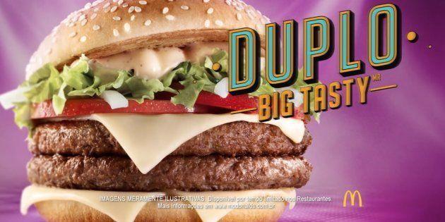 McDonald's lança Duplo Big Tasty e versão com frango e
