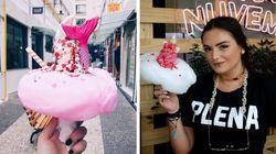 Esta sorveteria em SP faz sucesso apostando em sorvetes de unicórnios e