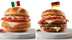 Com 'McItália', McDonald's lança sanduíches inspirados na Copa do
