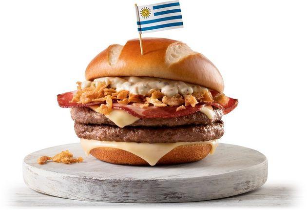 McDonald's lança sanduíches inspirados em 8 seleções campeãs da Copa do