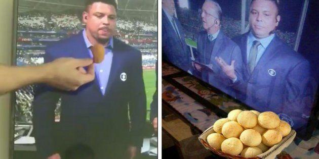 Ronaldo evitando quitutes é claramente você ao começar uma