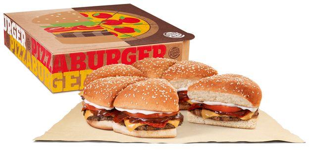 Pizza de hambúrguer já é realidade: Burger King cria sanduíche gigante para o 'Dia da