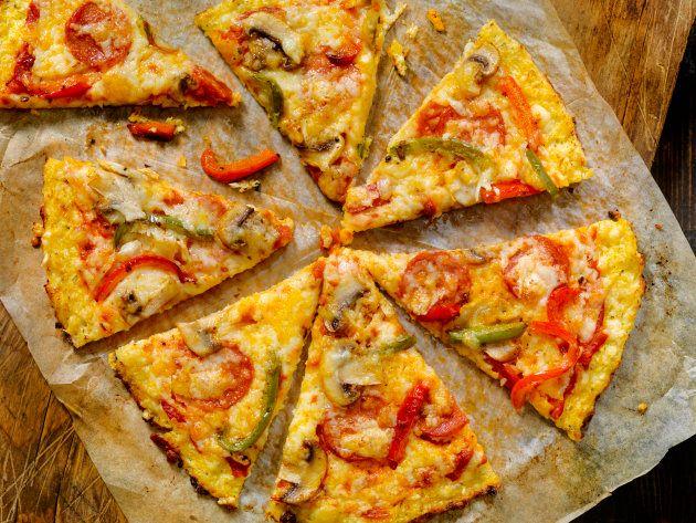 De couve-flor à vegana: 6 receitas saudáveis para comer pizza sem
