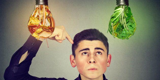 Quando maioresforemas duas áreas frontais do cérebro, maior a possibilidade de escolher alimentos