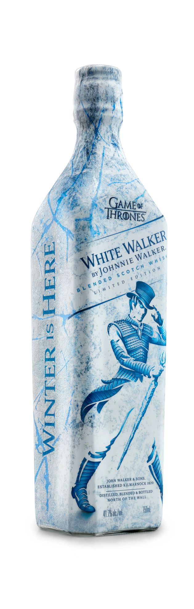 White Walker: Johnnie Walker lança uísque especial inspirado em Game of