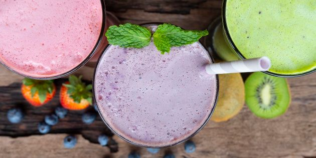 Começar o dia tomando uma vitamina é uma opção interessante no ponto de vista nutricional.