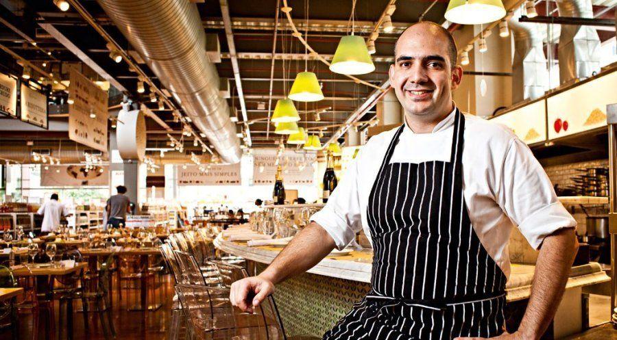 José Baratino, chef executivo do Eataly São