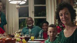O lugar das famílias branca e negra no comercial de Natal da
