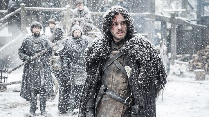 Jon Snow in <i>Game of Thrones</i>