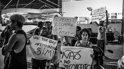 Santos tem beijaço gay contra hamburgueria que atacou